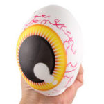 New 10cm Squishy Eye Random Color Sterss Ball Slow Rising Toy With Packing