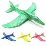 New Inertial Foam EPP Airplane Dinosaur Train Dragon Plane Toy 48cm Hand Launch Throwing Glider Aircraft