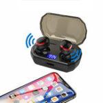 New [Bluetooth 5.0] TWS Earphone 3000mAh Power Bank IPX7 Waterproof CVC8.0 Noise Cancelling Smart Touch