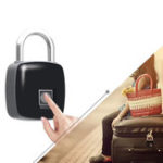 New IPRee® P3 Anti-theft Smart Fingerprint Padlock USB Charging Outdoor Travel Suitcase Bag Safety Lock