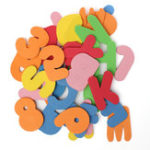 New 36 Pieces of Alphanumeric Early Education Floating Bath Puzzle Foam Toys