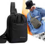 New Nylon Outdoor Crossbody Bag Casual Multi-function Chest Bag