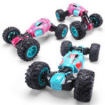New 1PC ZhengFei Toys 8850 2.4G 4WD 20km/h Double Sided Stunt Rc Car Deformation Climbing Off-road Truck