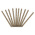 New Drillpro 10pcs HSS M35 1.5/2/2.5/3/4/4.5/5mm Cobalt Twist Drill Bits Set