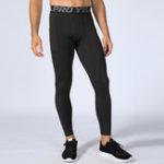 New Mens Sport Running Training Elastic Leggings