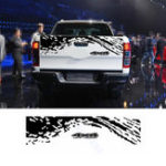 New 4X4 155*34cm Car Trunk Decoration Stickers BK Decals Universal for SUV Pickup