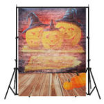 New 5x7FT Vinyl Halloween Pumpkin Graffiti Studio Photography Backdrop Background Studio Prop