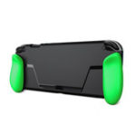 New Ergonomic Grip Protective Case for NINTENDO SWITCH Game Console with Tempered Film Accessories