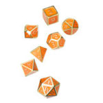 New Solid Metal Heavy Dice Set Polyhedral Dices Role Playing Games Dice Gadget RPG