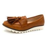 New Women Tassel Casual Soft Slip On Loafers