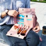 New Brenice Women Multifunction Cosmetic Handbag