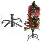 New 4ft Artificial Christmas Tree Stand Green Holder Base Stand Holiday Home Decoration