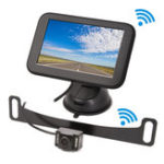New 12V DC 5 inch HD Wireless Screen Display Reversing Car Rear View Camera