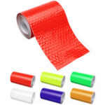 New 5cm X 100cm Safety Warning Reflective Sticker Conspicuity Tape Film Car Sticker