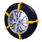 New 1Pc Car Snow Chain Beef Tendon Vehicles Wheel Tyre Anti-skid TPU Width 175 285