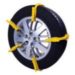 New 1Pc Car Snow Chain Beef Tendon Vehicles Wheel Tyre Anti-skid TPU Width 175 285