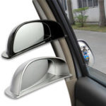 New 3R Car Back Row Anti-Collision Blind Spot Rearview Mirror HD Convex Wide Angle Auxiliary Mirror