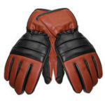 New Leather Rechargeable Battery Electric Heated Motorcycle Outdoor Winter Warmer Gloves