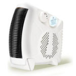 New 1450W Small Portable Electric Air Heater Warmer Fan Home Office Caravan Winter