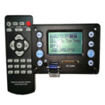 New Bluetooth 4.2 DC5V Battery 12V Two Channel Audio Decoder Board Recording Radio Lyrics Display APE FLAC WMA WAV MP3