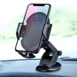 New Raxfly Strong Suction Cup Adjustable Arm Car Dashboard Holder Mount for iPhone Xiaomi Mobile Phone