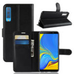 New PU Leather Wallet Kickstand Flip Protective Case For Samsung Galaxy A7 2018