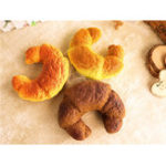 New Croissant Bread Squishy 13CM Super Slow Rising Original Packaging Squeeze Toy Fun Gift