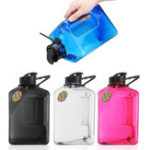 New 2.7L Water Bottle Sports Outdoor Plastic Camping Gym Training Cup Kettle Workout