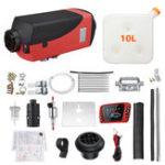 New 12V 8KW Car Diesel Air Heater Diesel Fuel Parking Heater LCD Switch Warming Equipment Kit