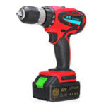 New 68V 1000mAh Cordless Rechargeable Electric Drill 2 Speed Heavy Duty Torque Power Drills