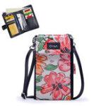 New Women Print Sheepskin Multifunctional Phone Bag