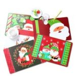New 12PCS/Set Christmas Placemat Table Merry Xmas Placemats Coaster Kichen Table Decorations