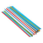 New 50pcs 25cm PP PVC Plastic Welding Rods Welder Sticks Blue Yellow White Red Green