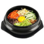 "New 7"" 18cm Rice Bowl Korean DOLSOT Bowl Earthenware Stone Pot Bibimbap Cooking + Trivet Set"