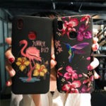 New Bakeey Imitation Embroidery Three-Dimensional Relief Soft TPU Protective Case For Xiaomi Mi 6X/Mi A2
