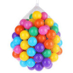 New 5.5/7/8cm Baby Kid Pit Toy Swim Colorful Soft Plastic Ocean Ball 50/100/200PCS Novelties Toys