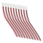 New 10Pcs 55mm Upgraded Tiny Whoop JST-PH 2.0 Plug Female Connector Cable for Blade Inductrix Drone