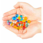 New 24 Colors DIY Water Beads Spray Magic Hand Making 3D Puzzle Educational Toys for Children Kit Ball Game