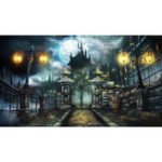 New 7x5FT Halloween Horror Castle Theme Photography Backdrop Studio Prop Background
