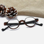 New Unisex TR90 Round Frame Anti-fatigue HD Reading Glasses