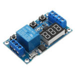 New 6-30V 1 Channel Relay Module Switch Trigger Time Delay Circuit Timer Cycle Adjustable