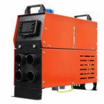 New 12V 5000W Diesel Air Heater Single / 4 Holes Tank Remote Control Thermostat Caravan Motorhome RV