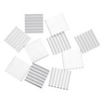 New 10Pcs 14x14x4mm Aluminum Radiator Chip Heat Sink