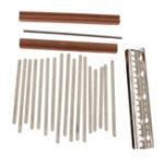 New 17 Key DIY Kalimba Thumb Piano Finger  Percussion Parts