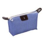 New IPRee® Striped Dumpling Women Cosmetic Bag Folding Travel Waterproof Makeup Wash Bag Storage Pouch