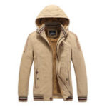 New Mens Military Outdoor Thick Fleece Winter Tooling Jacket