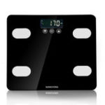 New Tempered Glass Electronic Scale Digital Body Fat Analyser Scale BMI Heathy Scale
