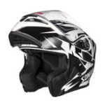 New Universal Flip Up Crash Helmet Motorcycle Motorbike Scooter Dual Visor Full Face Helmet