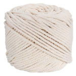 New 4mmx100m Natural Beige Cotton Twisted Cord Rope DIY Craft Macrame Woven String Braided Wire