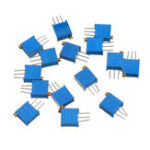 New 13Pcs 100R-1M 3296 Potentiometer Package 3296W Potentiometer Adjustable Resistor